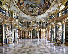 bibliothèque Abbaye de Wiblingen