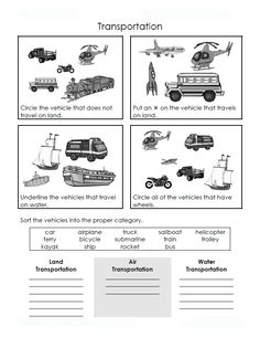 transportation crafts for toddlers   BILINGUAL AL-YUSSANA: MEANS OF TRANSPORT: ACTIVITIES