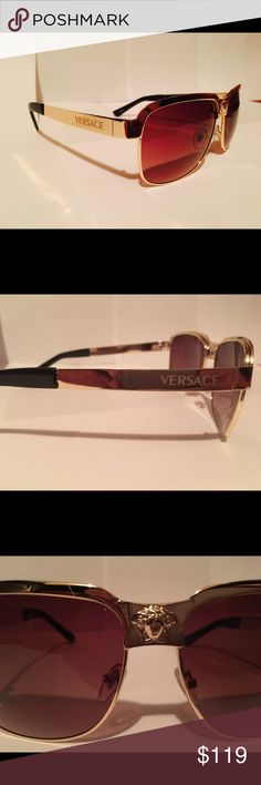 50 Exte by Versace EX-60//S designer Italy unique sunglasses eye wear shades