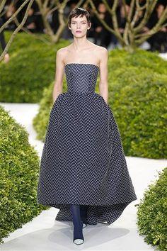 Dior: Semana de la Alta Costura de París Primavera/Verano 2013
