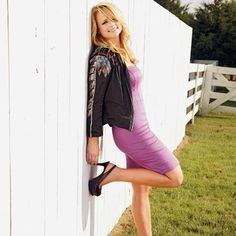 """""""I don't mind having a big butt—they're back in style. But I do a lot of squats to make sure my booty's not dragging on the ground."""" #MirandaLambert"""
