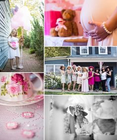 Tea Party Baby Shower - Maternity - Mathy Shoots People