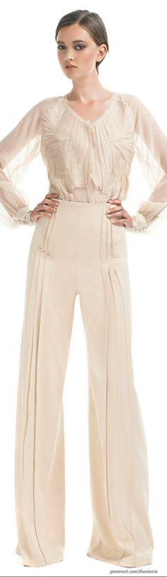 Zac Posen Resort-those pants!