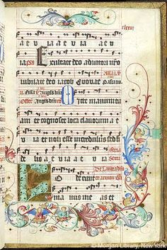 Gradual, MS M.905 I, fol. 176r - Images from Medieval and Renaissance Manuscripts - The Morgan Library & Museum