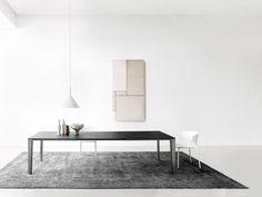 SKIN Mesa extensible by Desalto diseño Marco Acerbis