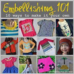 embellishing  101