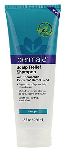 Derma E Scalp Relief Shampoo with Psorzema Herbal Blend 8 Fluid Ounce -- Check this awesome product by going to the link at the image.