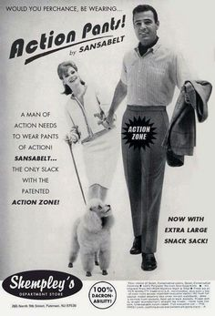 An Action Zone, A Snack Sack ! These pants are a playground !!!!