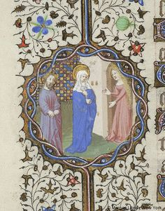Book of Hours, MS M.359 fol. 77v - Images from Medieval and Renaissance Manuscripts - The Morgan Library & Museum