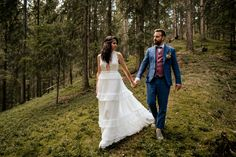 Forest Wedding Hippie