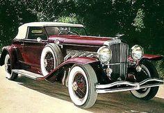 1934 Duesenberg Model J - (Duesenberg Automobile & Motors Company, Inc. Auburn, Indiana,1913-1937)