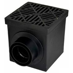NDS dia Catch Basin at Lowe's. We carry high quality basins, grates, and risers for all of your drainage needs. All NDS grates are designed to withstand normal abuse in landscaping Catch Basin Drain, Clogged Pipes, Drain Pipes, French Drain System, Underground Drainage, Trench Drain, Drainage Solutions, Free In French