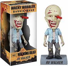 Funko Walking Dead Wacky Wobbler Bobble Head RV Walker Zombie New!