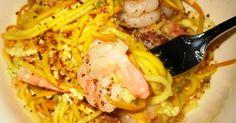 Mmmm Paleo: Recipe Test - Comfort Noodles (with Shrimp)
