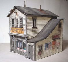 Paper model finished - Model Railroader Magazine - Model Railroading, Model Trains, Reviews, Track Plans, and Forums