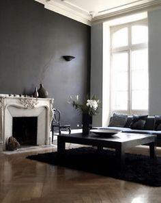 i colori più in voga per le pareti nel 2015 | pareti grigie ... - Colori Soggiorno 2015 2