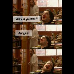 Black books. This is the greatest moment in all of television history.