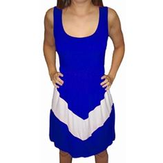 You've got to a #chevron dress for gameday!  alumnihall.com