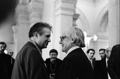 Francis Bacon and William De Kooning