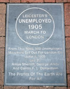 Leicestershire History | News and Features: Leicester Unemployment March - 1905