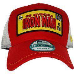 Iron Man Framed Logo Mesh Hat Deadpool dd03cc786fed
