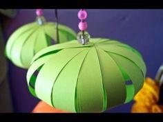 اعمال يدوية لرمضان: فانوس للاطفال اعمال يدوية بالورق Ramadan Crafts: Paper Lanterns Kids can Make - YouTube