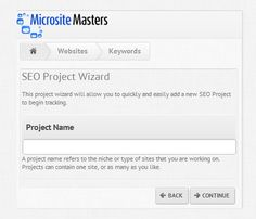 Microsite Masters Rank Checker's Features