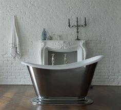 Drummond - The Morar cast iron slipper bath tub