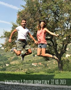 Valentina&Davide-from-italy-22_08_2013 jump for forestarìa farm in lucca tuscany