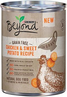 Purina Beyond Wet Dog Food, Grain Free Chicken & Sweet Potato Recipe, 12.5-Ounce Can, Pack of 12 *** Continue to the product at the image link.