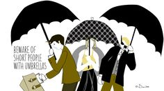 Umbrella etiquette