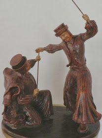 A MAGYAROK TUDÁSA: A TÁNC - A MAGYAR NÉPTÁNCOK Statue, Sculptures, Sculpture