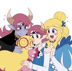 Star Butterfly and Tom Cartoon As Anime, Anime Manga, Anime Art, Evil Children, Star Children, Butterfly Family, Star Butterfly, Starco, Fanart
