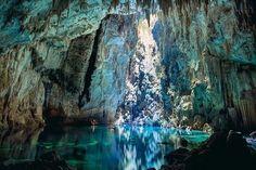 Грот Голубого озера, Бониту, Бразилия