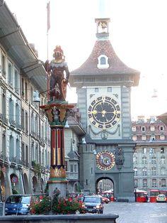 Zytgloggeturm , Switzerland - Bern  yes! circa 1972 -D