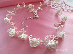 rosellina chiacchierino | Hobby lavori femminili - ricamo - uncinetto - maglia