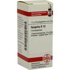 SPIGELIA D 12 Globuli:   Packungsinhalt: 10 g Globuli PZN: 02931576 Hersteller: DHU-Arzneimittel GmbH & Co. KG Preis: 5,50 EUR inkl. 19 %…