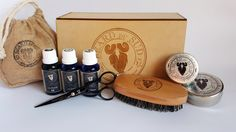 This kit includes the whole selection of BEARD Du Sud's finest handcrafted BEARD CARE and a selection ofQUALITY beard GROOMING products. Description from bearddusud.com. I searched for this on bing.com/images