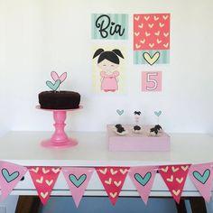 3rd Birthday Party For Girls, Happy Birthday Decor, Picnic Birthday, Birthday Party Tables, Bday Girl, Birthday Party Decorations, Party Time, Diy Party, Party Stuff