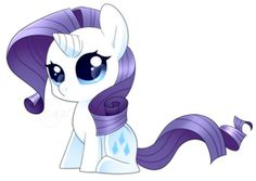 MLP - Chibi Rarity Sparkle by haydee on deviantART