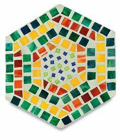 Amazon.com: Stepping Stone Mosaic Molds - 16, Hexagonal Mold: Arts ...
