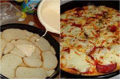 Kenyérböl pizza - Fogj 10-12 szelet szikkadt kenyeret, majd készíts belőle isteni pizzát! Megmutatjuk hogyan!