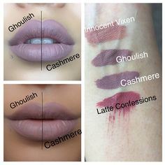Lime Crime Velvetines Cashmere Dupes | Dupethat--Because you should never purchase from lime crime!