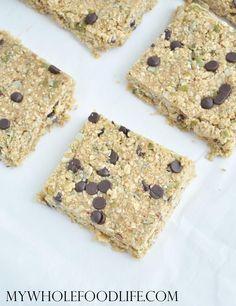 5 Minute Granola Bars - My Whole Food Life