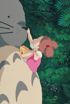 My Neighbor Totoro (1988) #gif #art #animation