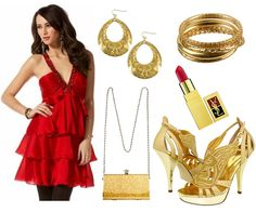 Christmas Party Outfit - budget version