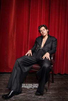 NEW   Another new photo from Harry's Sunday Times Cover Story and photoshoot. Follow rickysturn/harry-styles