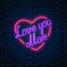 Tumblr Neon, Cute Images For Dp, Neon Signs Quotes, Love My Parents Quotes, Neon Words, Whatsapp Wallpaper, Neon Design, Name Wallpaper, I Love My Dad