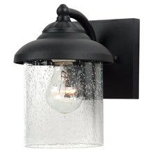 View the Sea Gull Lighting 84068-12 Lambert Hill Single-Light Outdoor Wall Fixture in Black Finish at LightingDirect.com.