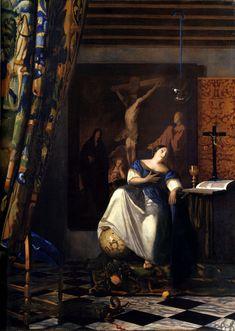 Johannes Vermeer, The Allegory of Faith, 1670-72